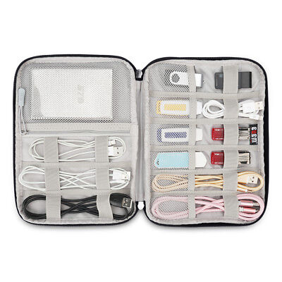 BUBM Electronic Accessories Cable USB Outdoor Travel Digital Storage Bag Case-M