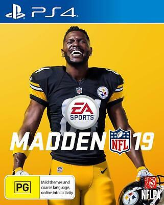 Madden NFL 19 PS4 Playstation 4 Game Brand New In Stock From Brisbane