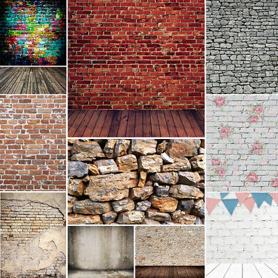 Brick Walls Photography Backdrops Photo Props Retro Background Vinyl 10x10FT