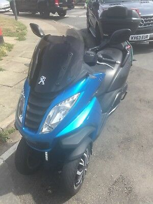 Peugeot Metropolis 400i Three Wheeler 2015 16 2 600 00 Picclick Uk