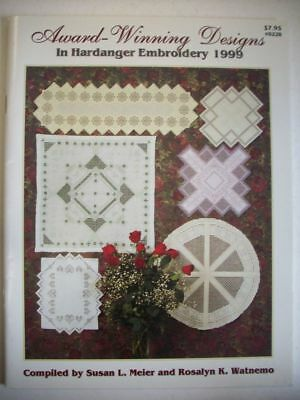 1999 Award winning designs in Hardanger embroidery charts patterns