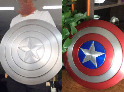 1:1 Captain America Shield Full Aluminum Metal Shield Cosplay Unpainted/Painted