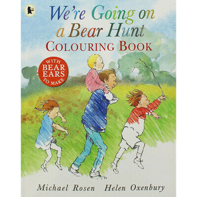 We're Going On a Bear Hunt Colouring Book By Michael Rosen, NEW, Paperback