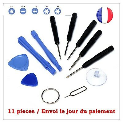 KIT OUTILS DEMONTAGE IPHONE / SAMSUNG / TABLETTE ... 11 pieces