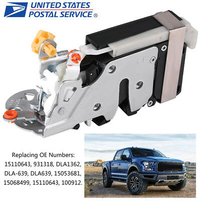 931-318 Front Left Power Door Lock Actuator & Integrated Latch Assembly For GM