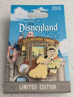 A Piece Of Disneyland History 2015 Redwood Creek UP Russell Dug POH Disney Pin