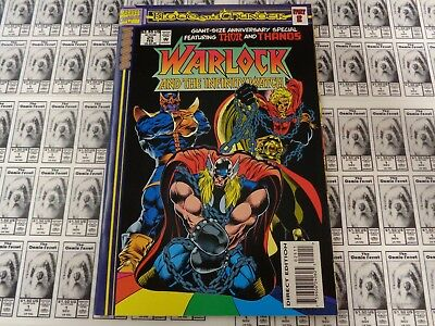 Warlock and Infinity Watch (1992) Marvel - #25, Blood and Thunder, Starlin, VF