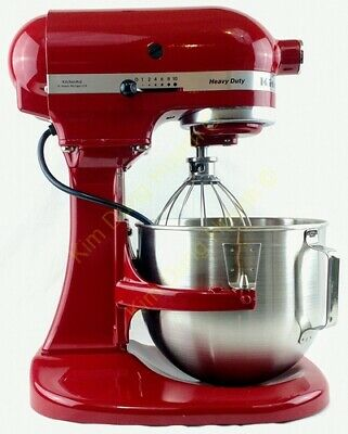 KITCHENAID 5KPM5EER HEAVY Duty Küchenmaschine Empire Rot 315W 4,8L Kneten  Rührer