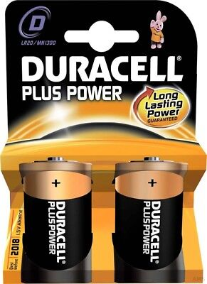 Duracell Pile Alcaline MN1300/LR20 Plus Power-D K2