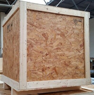 ispm15 wooden shipping crates cases boxes 100 x 100 x 100 cm - Wooden Shipping Crates