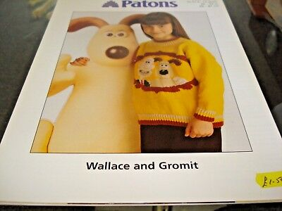 Patons Wallace And Gromit Knitting Pattern Wendolene Toy 419