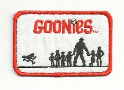 The Goonies Movie Group Silhouette Logo Embroidered Patch NEW UNUSED