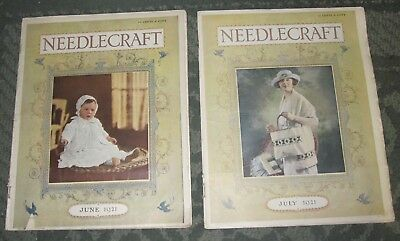 2 June 1921 And July 1921 Publications - Needlecraft