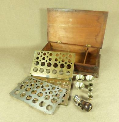 Antique BRASS PHARMACY DISPENSING 'CACHETS' PRESS_(Sachets/ Tablet/ Pill Maker)