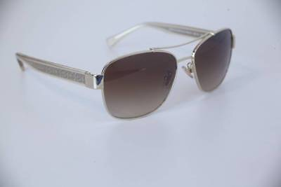 c98c8c3613 Coach Women s HC7064 HC 7064 926513 Gold Crystal Brown Pilot Sunglasses 56mm