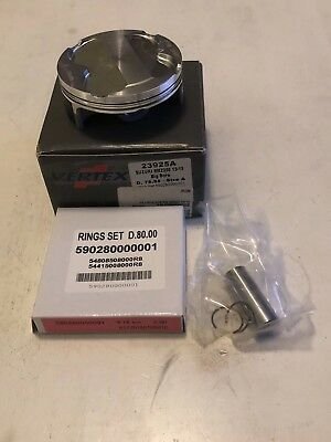 Vertex Big Bore Piston Kit 2013-14 Suzuki RMZ250 79.95mm 3.00mm Over Bore
