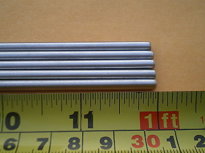 """3 Pcs. Stainless Steel Round Rod 304, 5/32"""" (.156"""") (4Mm.) X 12"""" Long"""