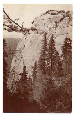 3919: CA Sequoia National Park MORO ROCK no stairs 1920s UNUSED Exclt Postcard
