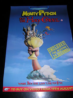 Original Promotional Poster - Monty Python And The Holy Grail