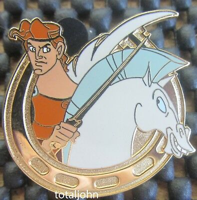 Disney DLR Cast Member Lanyard Series - Heroes On Horseback Hercules Pin