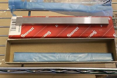 "Starrett No 384 6"" x 1/2"" x 1/4"" Steel Inspection Layout Parallels Parallel Set"