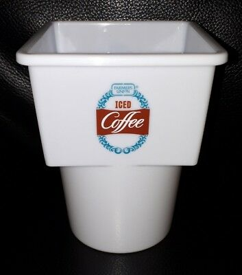 Rare Collectable Fuic Farmers Union Iced Coffee Car Caddy Plastic Carton Holder