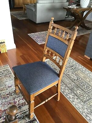 dining chairs oak. 4 X Chairs $400 Total.