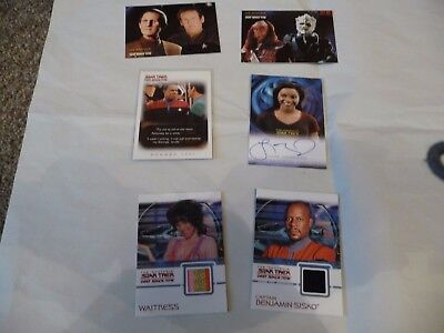 Star Trek Deep Space Nine Sub Set individual Cards
