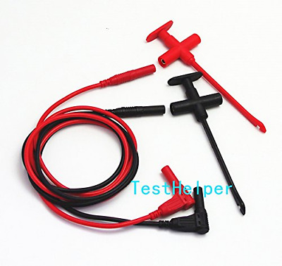 TestHelper TH-F-2-KIT Insulation Piercing Clip Test Probe + Silicone Lead Set, H