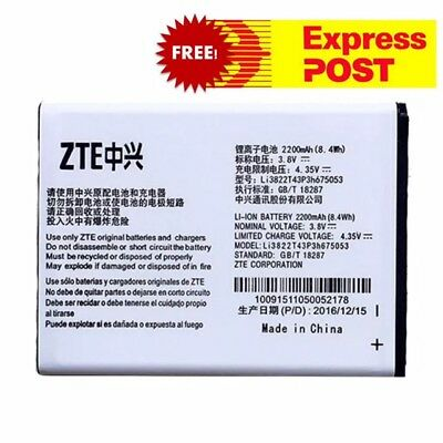 Replacement Battery for ZTE Telstra A430,Blade D Lux,Blade Q Lux 4G,Buzz 4GX