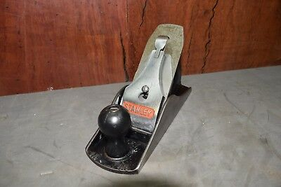 Vintage Stanley #4-1/2 Smooth Plane Woodworking Old Tools