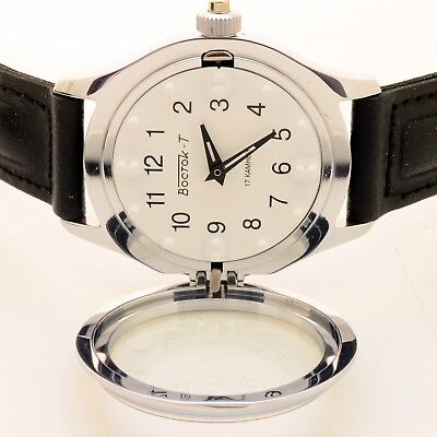 Russian  491210 Mechanical Braille Wrist Watch For Blind Persons (New)