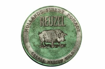 Reuzel Pomade Green Grease Medium Hold  35 g