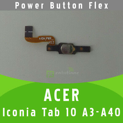 Acer Iconia Tab 10 A3-A40 On/Off Power Button Schalter Knopf Flex Kabel