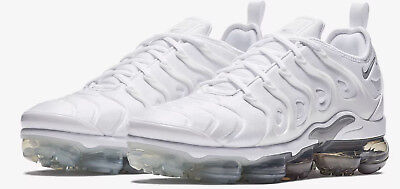 Men's Nike Air VaporMax plus White Wolf Grey Pure Platinum 924453-102