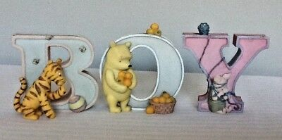 Disney classic pooh letters B/ O/ Y by Mitchell & co.
