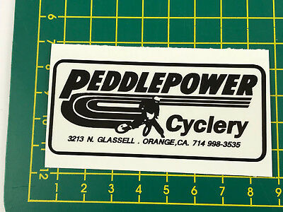 old school bmx decals stickers acs gen 1 rotor black clear
