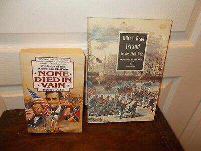 Lot of 2 CIVIL WAR BOOKS from  1981 &1990