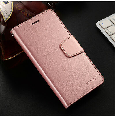For iPhone 8 7 6S Plus SE/5S/5 XS Max Leather Wallet Card Pocket Flip Cover Case