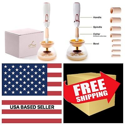 Electric Makeup Brush Cleaner and Dryer - Professional Automatic Spinner Machine