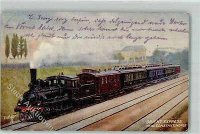 52230544 - Konstantinopel Tuck`s Oilette Famous Express Postcard 9329 Orient