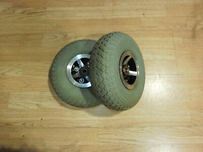 2 Invacare Taurus Wheels and Tyres Front 3.00 - 4