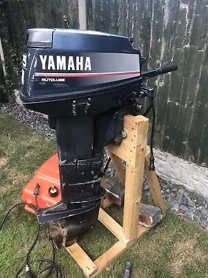 YAMAHA 25HP AUTO-LUBE 2-stroke Outboard Electric Start Long Shaft