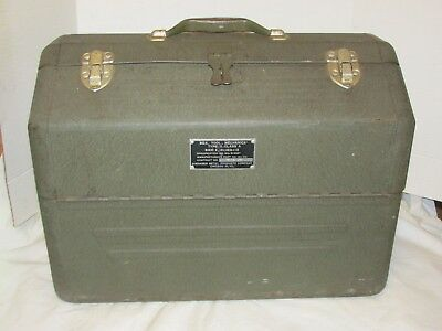 Vintage Simonsen Cantilever Tool Box Type II Class A Military Nice! LQQK!