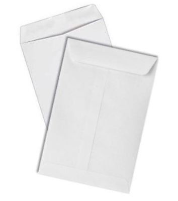 Econo Catalog Envelopes 28lb White Wove 7-1/2-x-10-1/2-500-pk - Shipping envelop