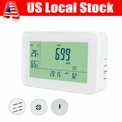 Portable YEH-40 CO2 Meter Carbon Dioxide Detector Indoor Air Quality Monitor US
