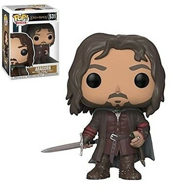 ARAGORN Herr der Ringe Funko POP! VinyFigur 10cm OVP Lord Of The Rings Hobbit
