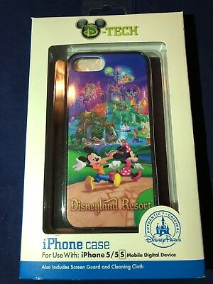 D-Tech/Disney Parks Disneyland Resort/Mickey Minnie Mouse Iphone 5/5S Case
