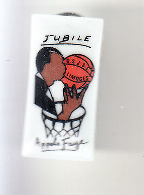 Rare Pins Pin's .. Sport Basket Ball Team Club Jubile Appolo Faye Limoges 87 ~B7