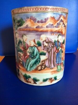 Chinese Export Porcelain Tankard -  5.5""